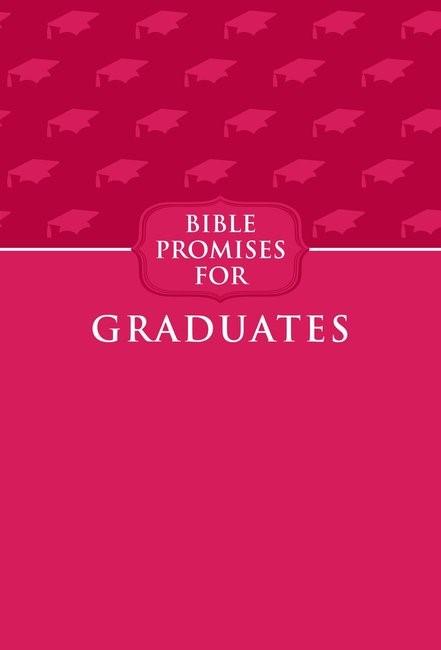 Bible Promises For Graduates, Raspberry (Imitation Leather)
