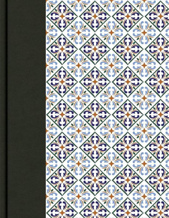 CSB Legacy Notetaking Bible, Spanish Tile (Imitation Leather)