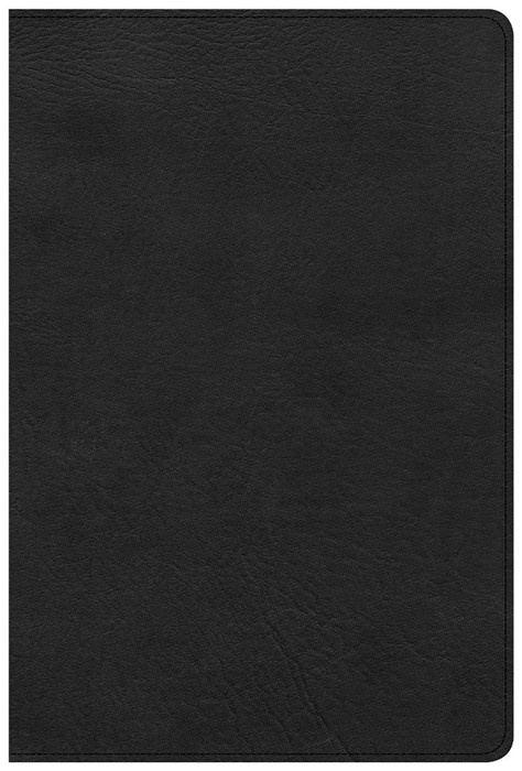 KJV Giant Print Reference Bible, Black LeatherTouch (Imitation Leather)
