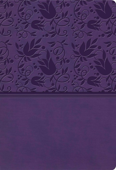 KJV Super Giant Print Reference Bible, Purple LeatherTouch (Imitation Leather)