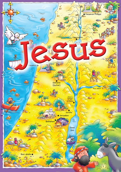 Jesus Activity Pack (Mixed Media Product)