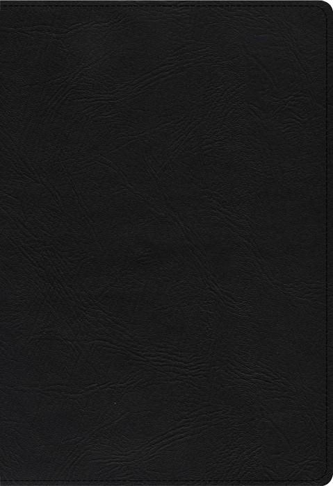 KJV Super Giant Print Reference Bible, Black Genuine Leather (Genuine Leather)