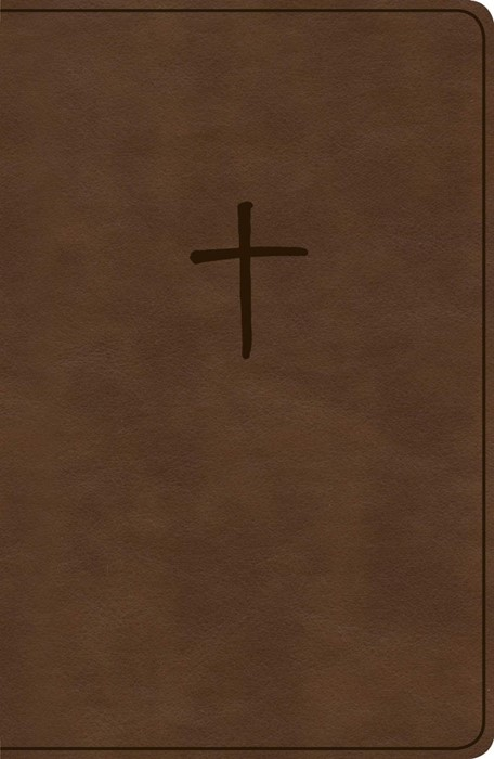 KJV Compact Bible, Brown LeatherTouch, Value Edition (Imitation Leather)