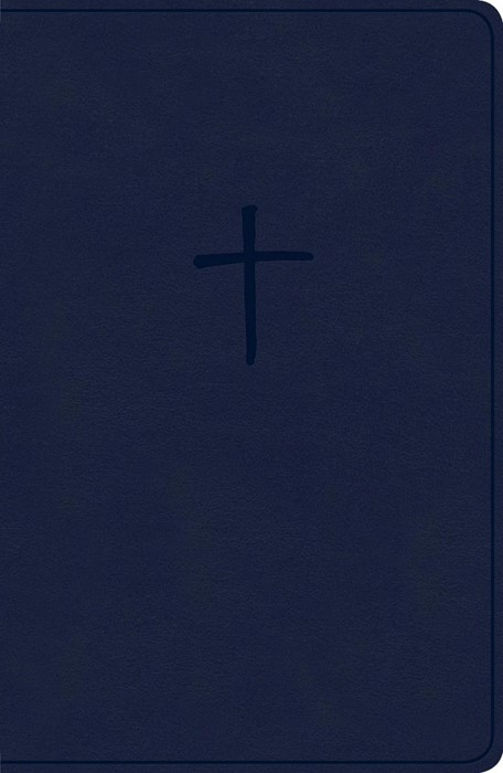 KJV Compact Bible, Navy LeatherTouch, Value Edition (Imitation Leather)