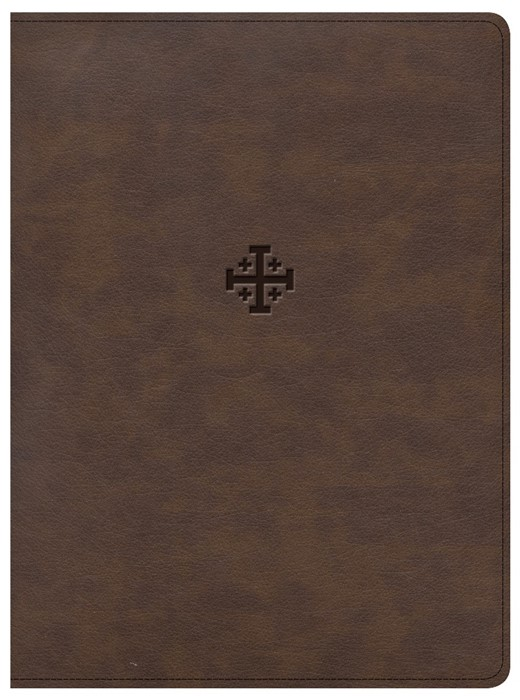 CSB Life Connections Study Bible, Brown, Indexed (Imitation Leather)