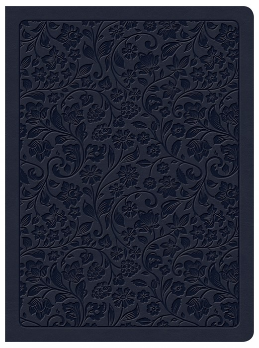 CSB Life Connections Study Bible, Navy LeatherTouch (Imitation Leather)