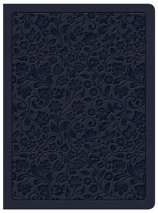 CSB Life Connections Study Bible, Navy LeatherTouch, Indexed (Imitation Leather)