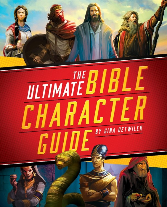 The Ultimate Bible Character Guide (Hard Cover)