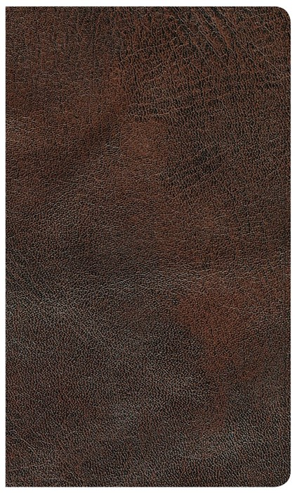 CSB Reader's Bible, Brown Genuine Leather (Genuine Leather)