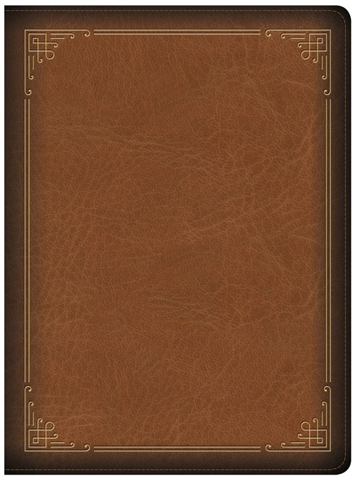CSB Ancient Faith Study Bible, Tan LeatherTouch (Imitation Leather)