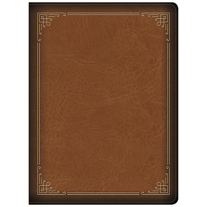 CSB Ancient Faith Study Bible, Tan LeatherTouch, Indexed (Imitation Leather)