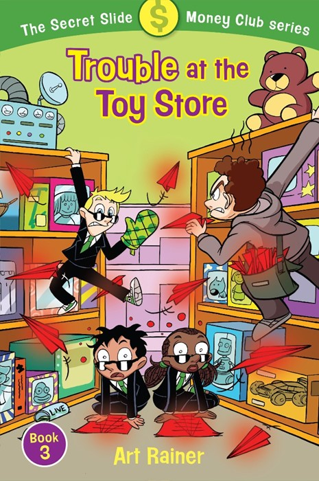 Trouble at the Toy Store (Paperback)