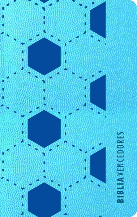RVR 1960 Biblia vencedores, azul símil piel (Imitation Leather)