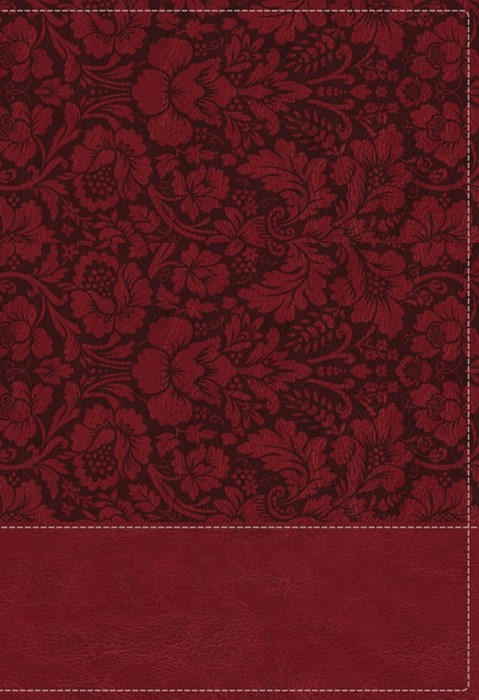 NKJV Wiersbe Study Bible, Burgundy, Red Letter, Indexed (Imitation Leather)