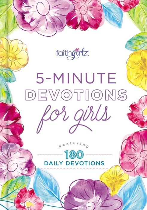 5-Minute Devotions For Girls (Hard Cover)
