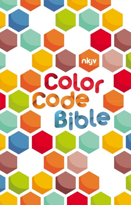 NKJV Color Code Bible (Hard Cover)