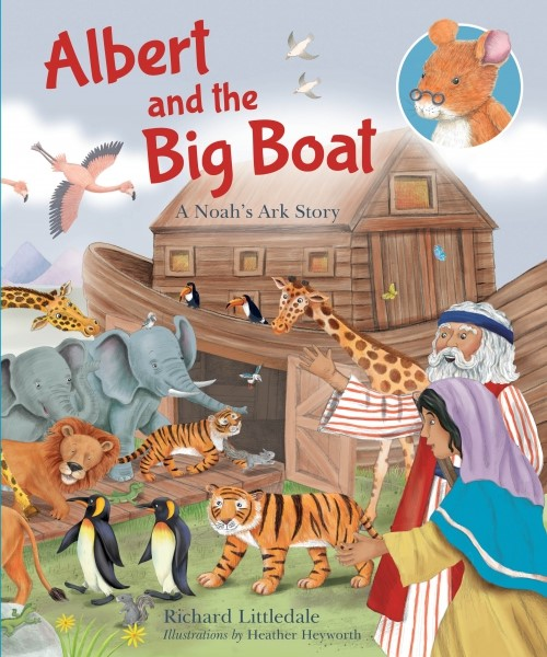 Albert and the Big Boat (Hard Cover)