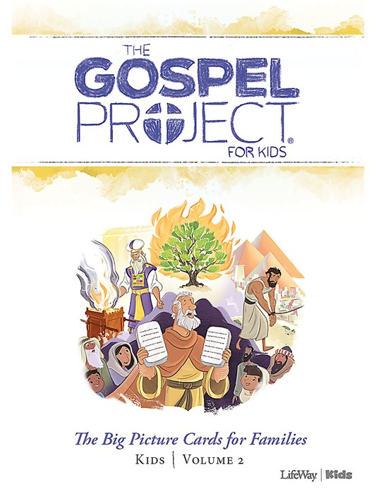 Gospel Project For Kids: Picture Cards, Winter 2019 (Cards)