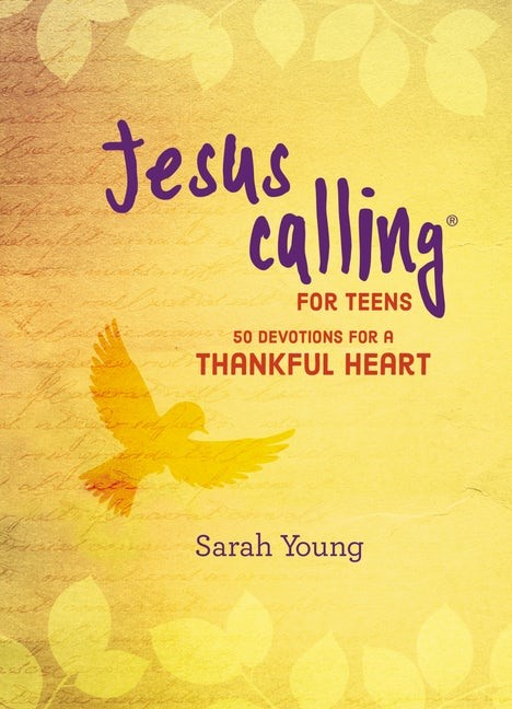 Jesus Calling For Teens (Hard Cover)