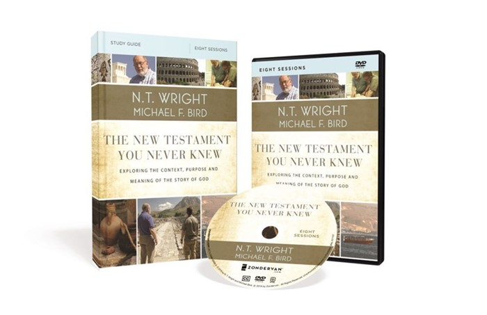 The New Testament You Never Knew Study Guide With DVD (Paperback w/DVD)