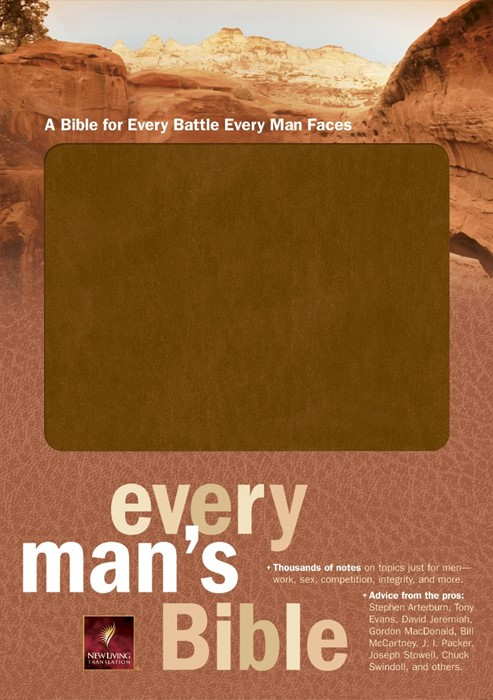 NLT Every Man's Bible (Bonded Leather)