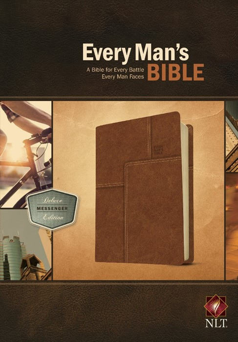 NLT Every Man's Bible: Deluxe Messenger Edition (Imitation Leather)