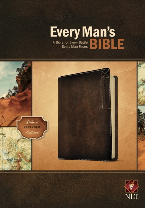 NLT Every Man's Bible: Deluxe Explorer Edition (Imitation Leather)