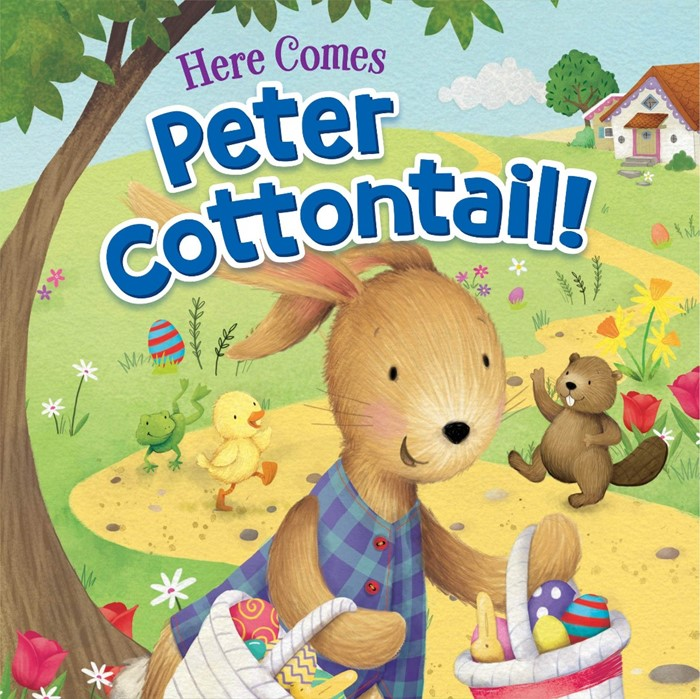 Here Comes Peter Cottontail! (Board Book)