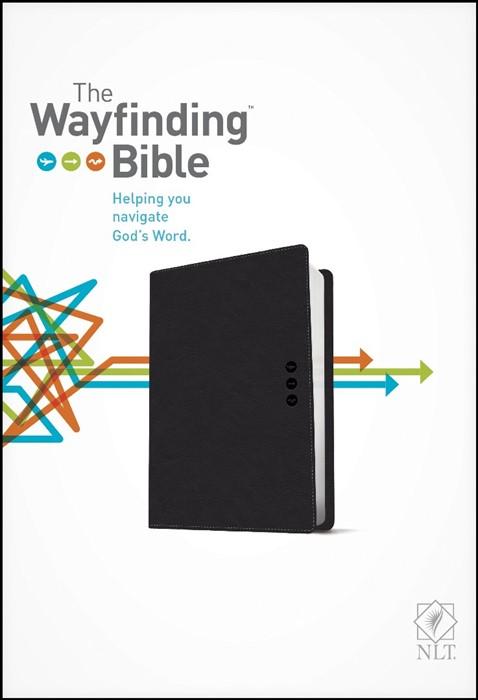The NLT Wayfinding Bible Black (Imitation Leather)