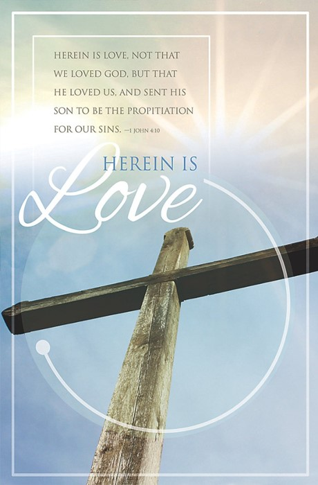 Herein Is Love Bulletin (Pack of 100) (Bulletin)