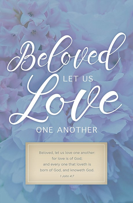 Let Us Love One Another Bulletin (Pack of 100) (Bulletin)