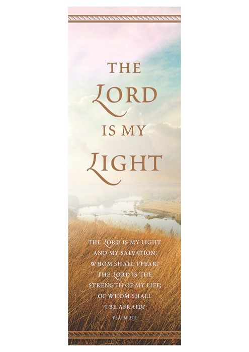 Lord Is My Light Bookmark (Pack of 25) (Bookmark)