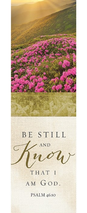 Be Still And Know That I Am God Bookmark (Pack of 25) (Bookmark)