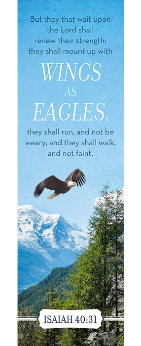 Wings Of Eagles Bookmark (Pack of 25) (Bookmark)