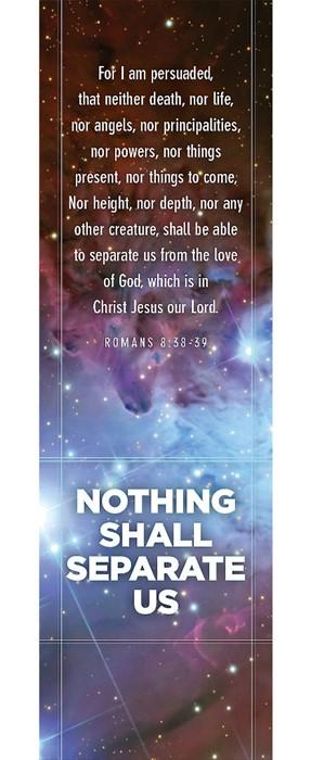 Romans 8:38-39 Bookmark (Pack of 25) (Bookmark)