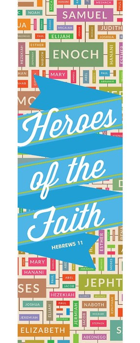 Heroes Of The Faith Bookmark (Pack of 25) (Bookmark)