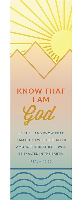 Know That I Am God Bookmark (Pack of 25) (Bookmark)
