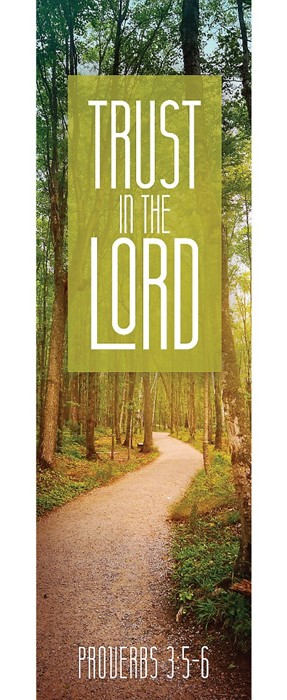 Trust In The Lord Bookmark (Pack of 25) (Bookmark)
