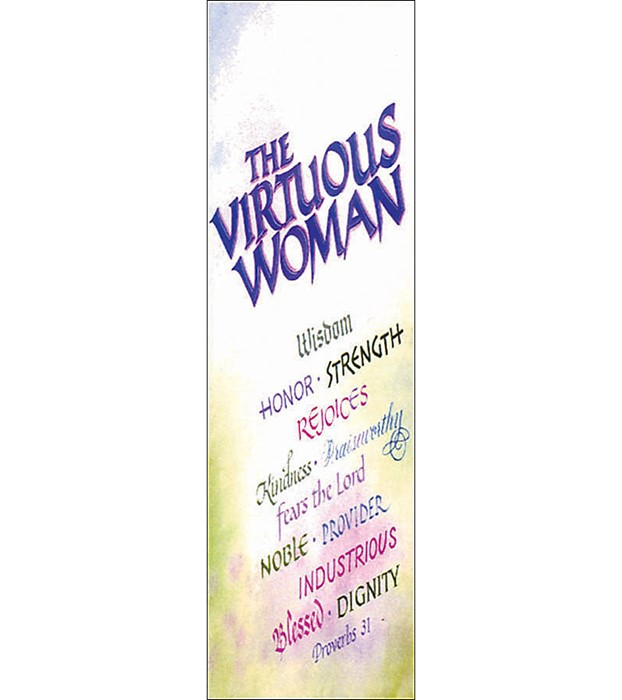 Virtuous Woman Bookmark (Pack of 25) (Bookmark)