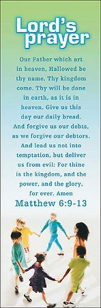The Lord's Prayer Children Bookmark (Pack of 25) (Bookmark)