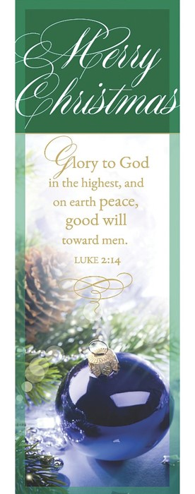 Glory To God Bookmark (Pack of 25) (Bookmark)