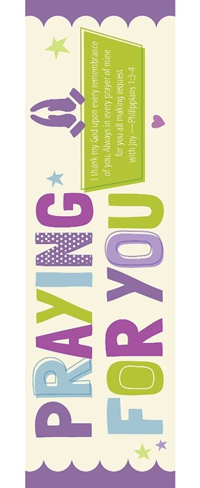 Praying For You Bookmark (Pack of 25) (Bookmark)
