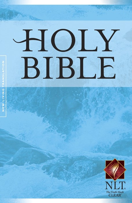 NLT Gift And Award Bible Blue PB (Paper Back)