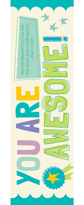 You Are Awesome Bookmark (Pack of 25) (Bookmark)