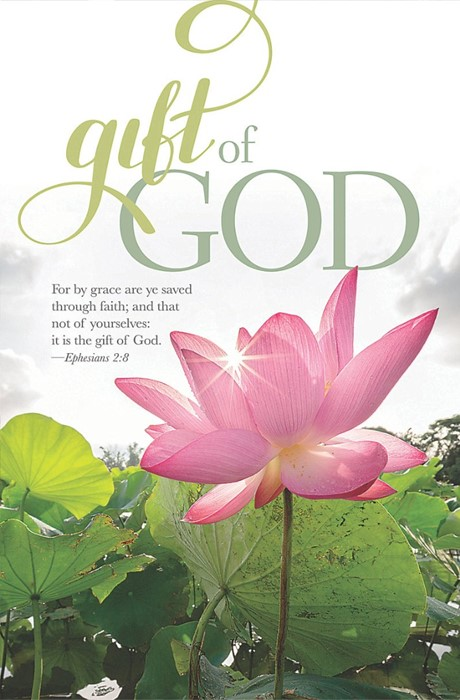 Gift Of God Bulletin (Pack of 100) (Bulletin)
