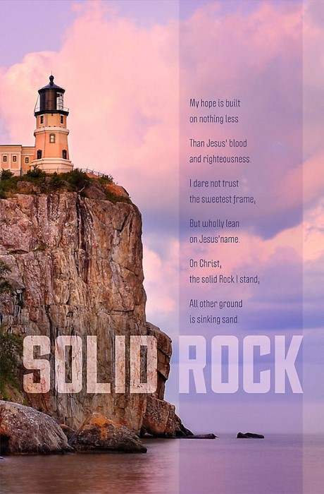 Solid Rock Bulletin (Pack of 100) (Bulletin)