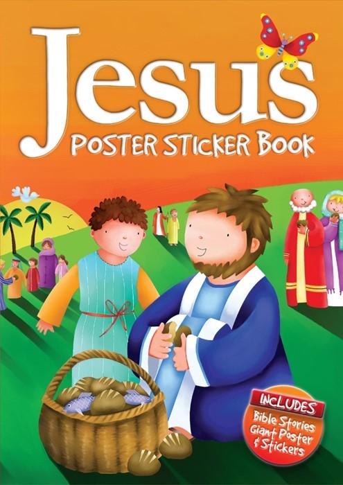 Jesus Poster Sticker Book (Hard Cover)