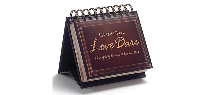 Living The Love Dare Flipbook (Calendar)