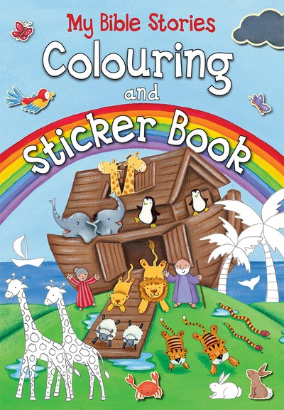 My Bible Stories Colouring And Sticker Book (Paperback)