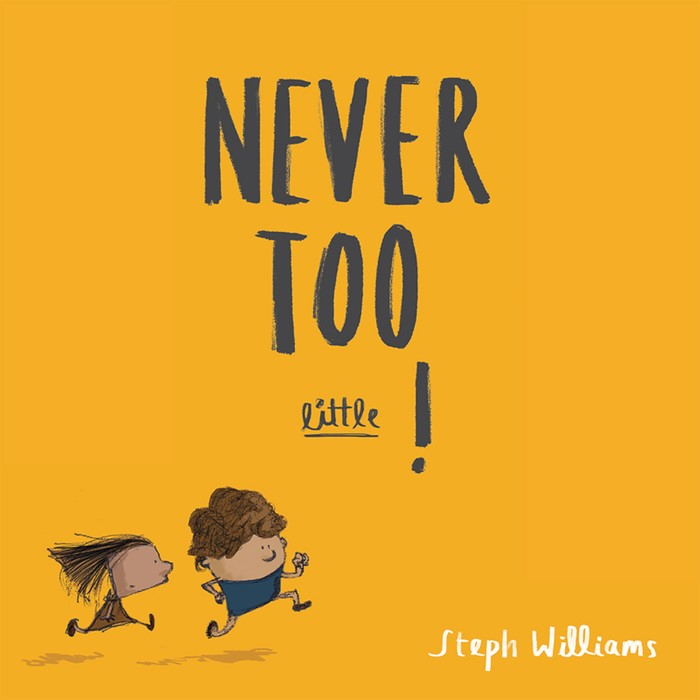 Never Too Little! (Paperback)